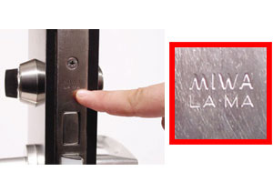 MIWALA/MAの刻印